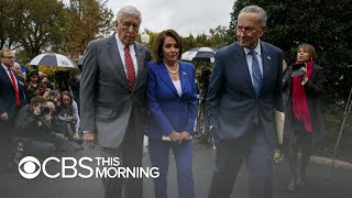 """Democrats storm out of Syria briefing with Trump after """"meltdown"""""""