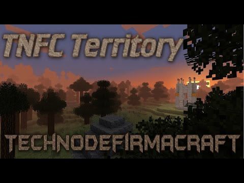 TNFC Territory E16 - IE Blast Furnace and Metal Press (Immersive Engineering)