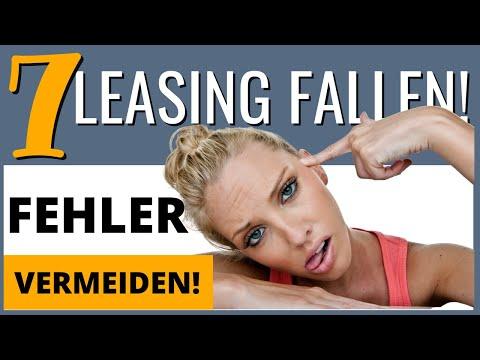 Die 7 Leasing Fallen - Vermeide diese Fehler beim Autoleasing