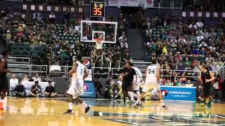 Sights & Sounds: Hawaii vs. Boise State Diamond Head Classic 12-22-13
