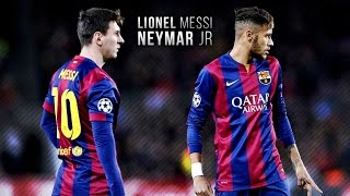 Lionel Messi & Neymar Jr ● Magic Dribbling Skills 2015 | HD