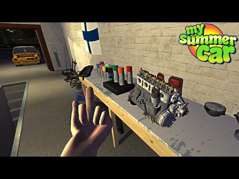 My Summer Car - BUILDING THE ENGINE