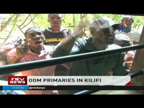 ODM primaries: Mombasa, Kilifi & Kwale hold party primaries