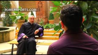 Syrian priest calls for disarmament to begin peace building process