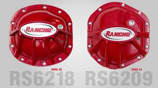 Rancho rockGEAR differentail cover and glide plate review