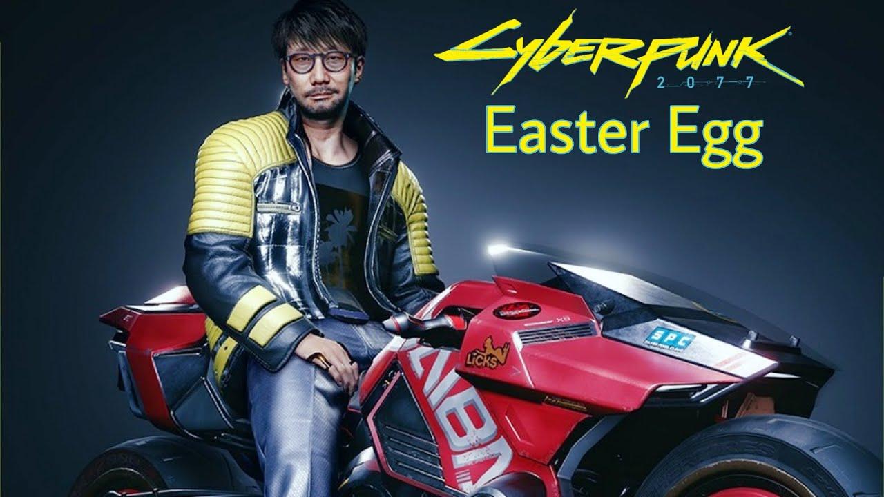 Hideo Kojima Easter Egg - CyberPunk 2077 HD Gameplay