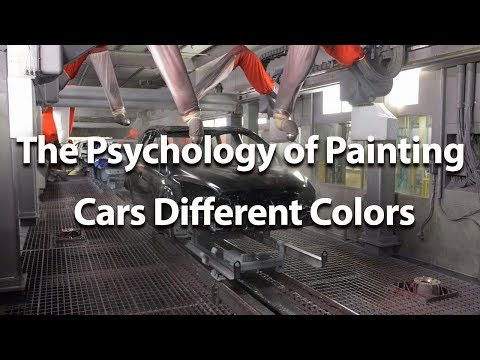 The Psychology of Painting Cars Different Colors - Autoline This Week 2212