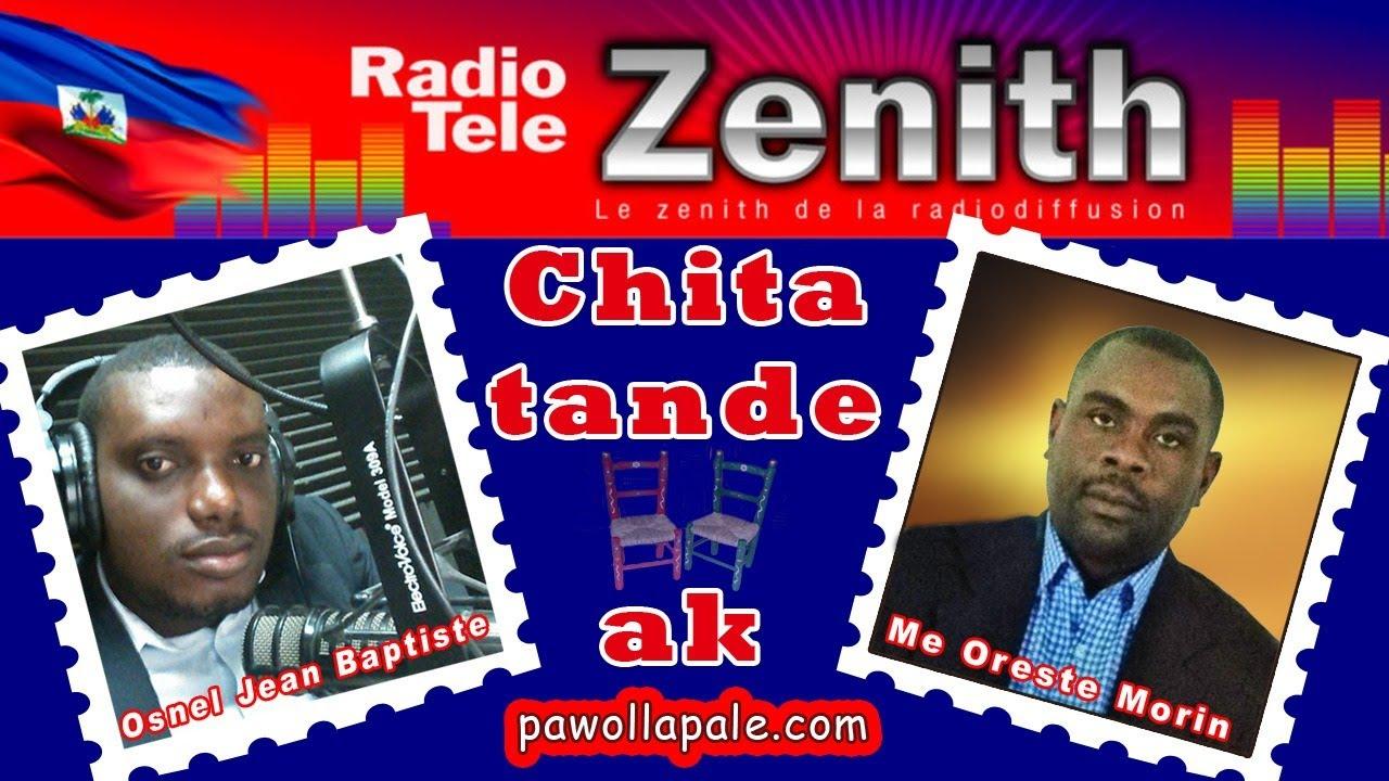 Ann CHITA TANDE emisyon Me MORIN ak Obnel Jn-Baptiste aprè vizit PM lan nan Zénith