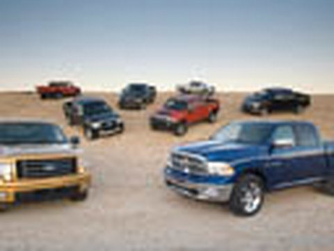 2009 Motor Trend Truck of the Year - Road Loop and Judging