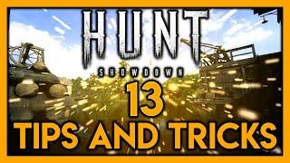 [13 TIPS AND TRÏCKS YOU DIDN'T KNOW] - Hunt: Showdown
