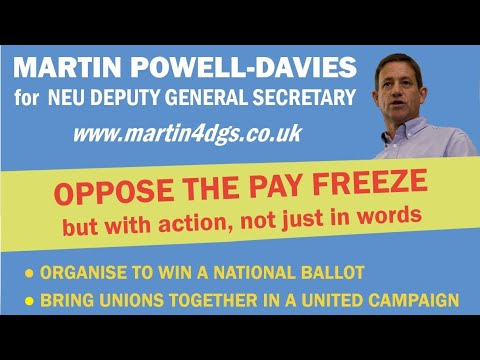 Martin explains why, if we are serious about defeating the Pay Freeze, our plans have to include more than just postcards and letters. We need to be planning for national action.