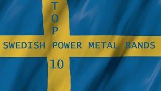 Top 10 Swedish Power Metal Bands