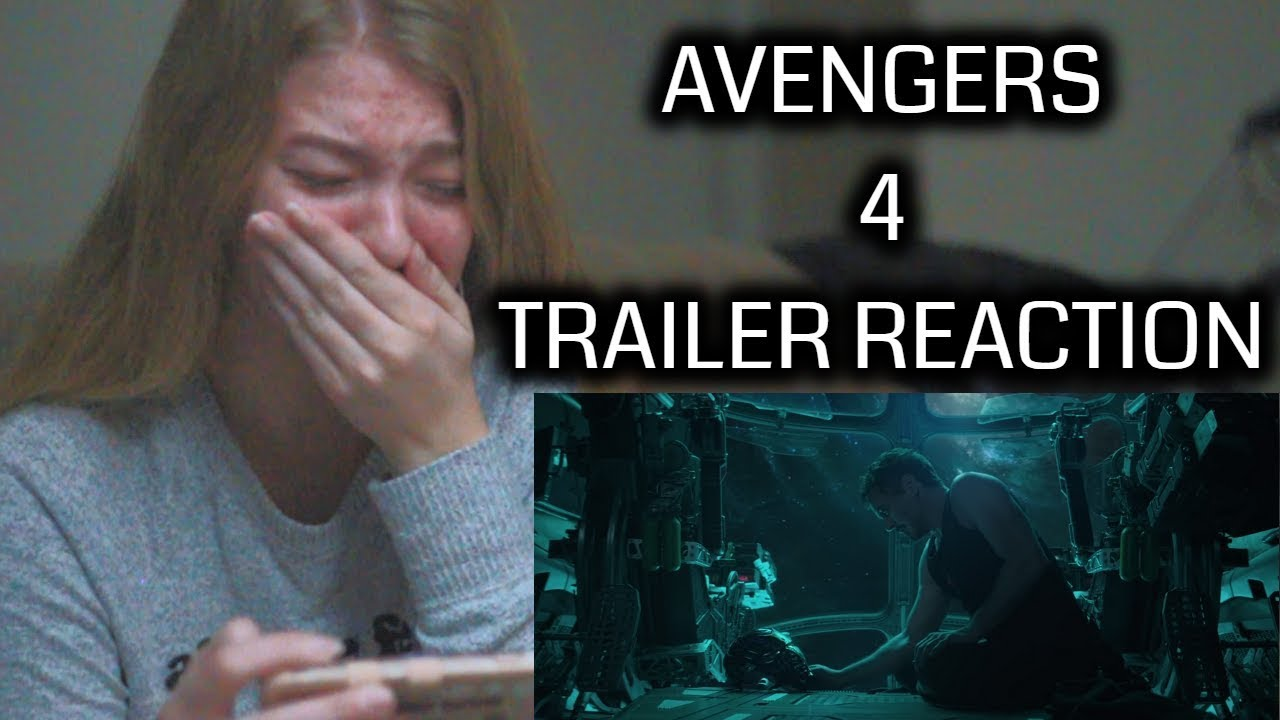 AVENGERS 4: ENDGAME | EMOTIONAL TRAILER REACTION