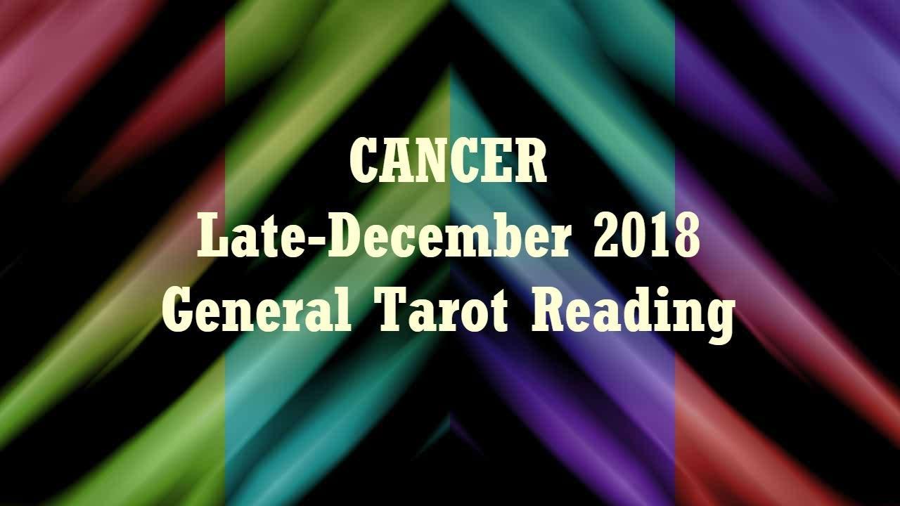 cancer tarot december 28 2019