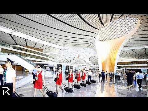 Inside China's New $18 Billion Dollar Airport