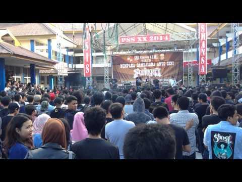 Seringai - Serigala Militia at Live PSS XX 2014 SMA 1 PALU