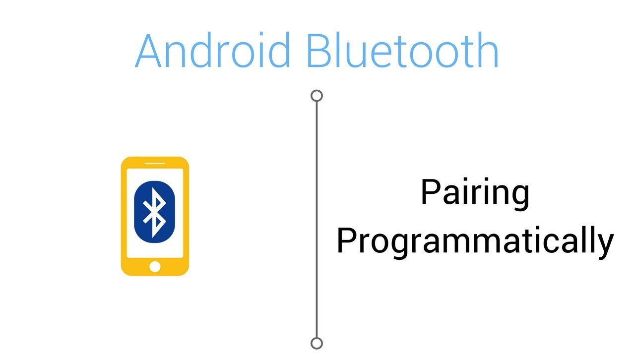 Bluetooth Tutorial - How to Pair