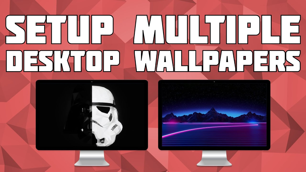 Setup Different Wallpapers on Multiple