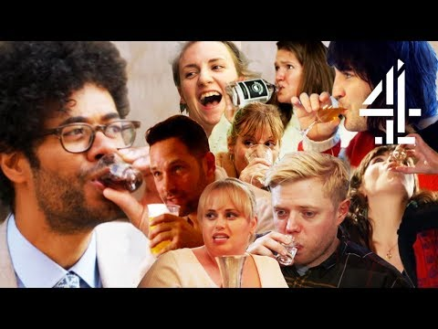 Best Of Richard Ayoade & Celeb Friends Drinking in Travel Man