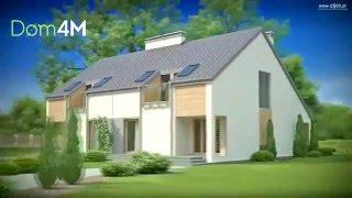 4M556 Проект дома на две семьи, 160м2 каждый