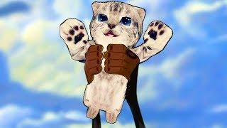 СИМУЛЯТОР Маленького КОТЕНКА #11 приключение мульт героев кошек и котов в веселом видео #пурумчата