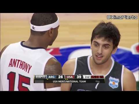 Argentina vs USA   Full Game Highlights  Exhibition Game  2012 USA Basketball Showcase