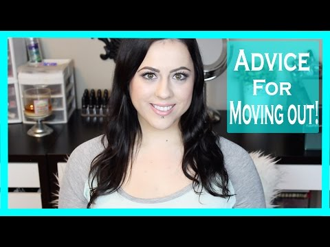 How To: Tips for Moving Out/Living on your Own!