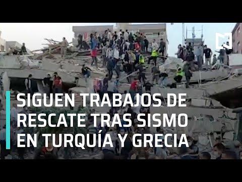 Continúan trabajos de rescate tras sismo en Turquía y Grecia 2020 - En Punto