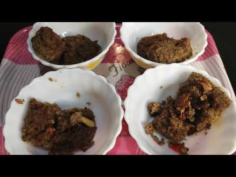 Practical keto was successful..prepared keto badam halwa to celebrate Keto success in Malayalam