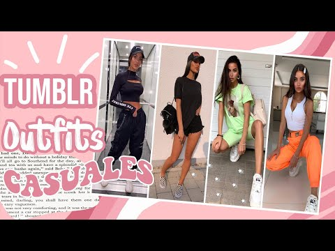 ☆ OUTFITS TUMBLR 2020 MUJER CASUALES - BADDIE GIRL TRENDY  Moda Y Maquillaje ☆