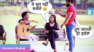 Mai Sun Nahi Sakta (Cant Hear) Par Gana Ga Sakta Hoon Singing Reaction Prank   Siddharth Shankar