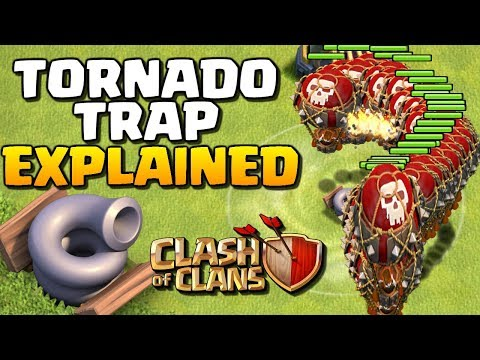Tornado Trap EXPLAINED | New CoC Update | Clash of Clans