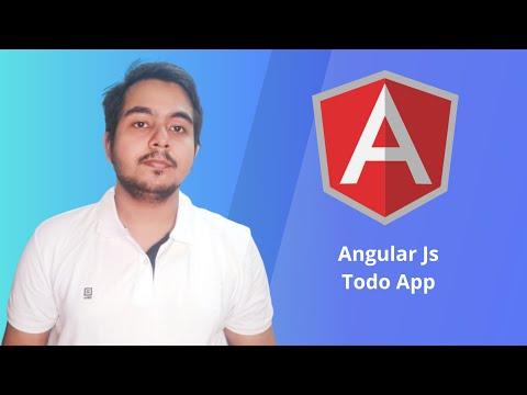 Angular Js Todo Application + Bootstrap thumbnail