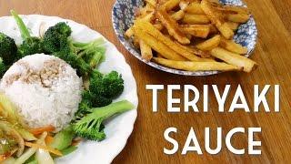 TERIYAKI SAUCE • Easy Vegan Recipe