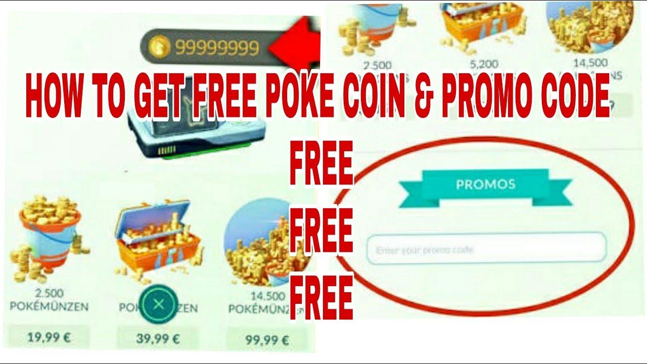 pokemon go promo code free coins