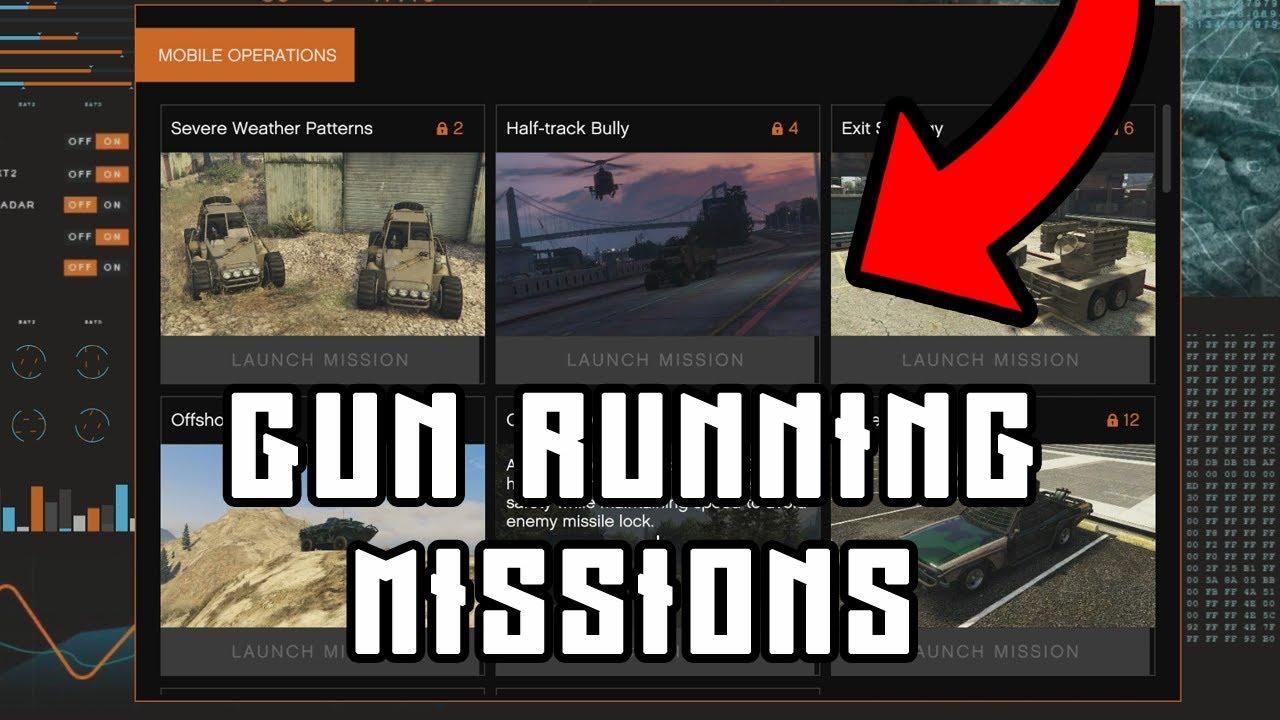 How to unlock Gun Running missions in GTA 5