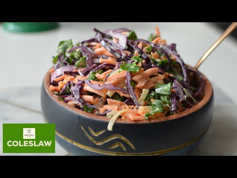 THE PERFECT AND TASTIEST COLESLAW RECIPE EVER