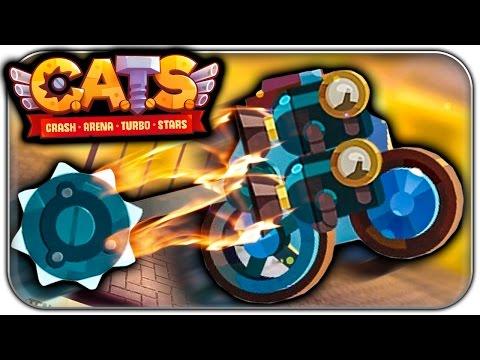 KUNG FU BROCKEN IST OP 🔥   CATS Crash Arena Turbo Stars Let's Play   Deutsch German