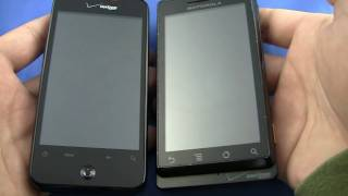 HTC Incredible vs. Motorola Droid