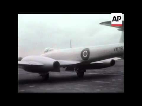 "GLOSTER ""METEOR"" AIR SPEED RECORD ATTEMPT"