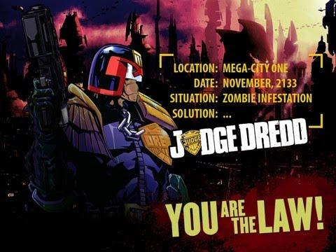 Judge Dredd vs. Zombies - iPad 2 - HD Gameplay Trailer