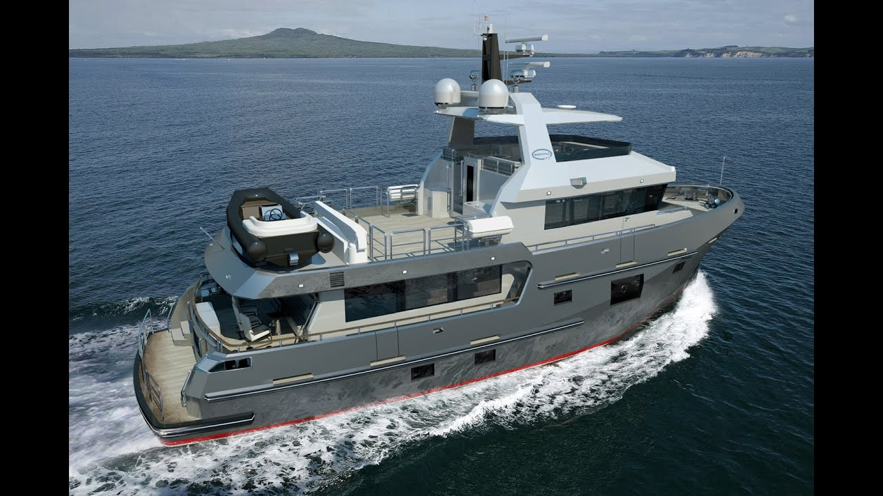Bering 77 Steel Expedition Luxury Trawler Yacht