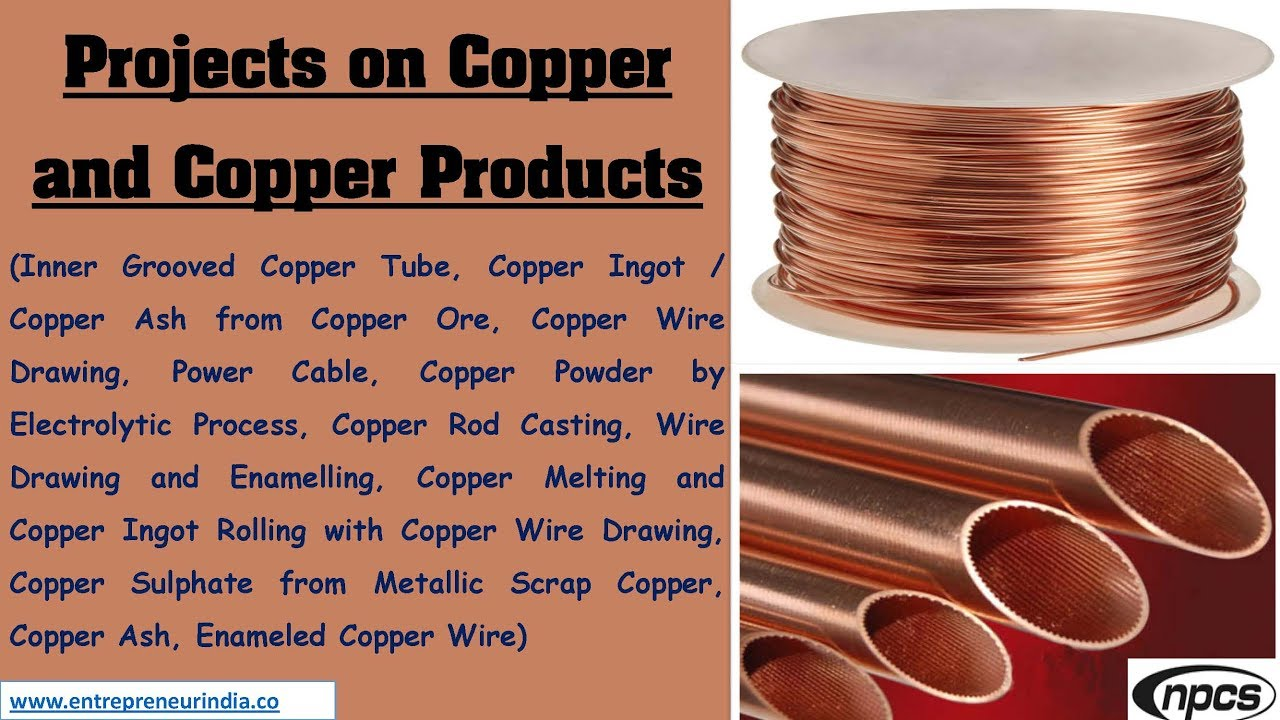 Projects on Copper and Copper Products - YouTube