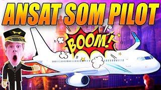 FLYVER PASSAGERFLY?! - ANSAT SOM PILOT - SKOLE OG ARBEJDE - REAL LIFE MOD - GTA 5 MODS - [#5]