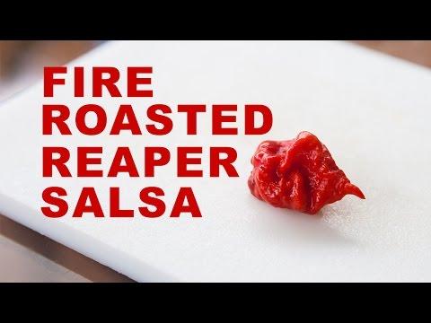theGardenVoyeur Ep 11: How To: Fire Roasted Reaper Salsa