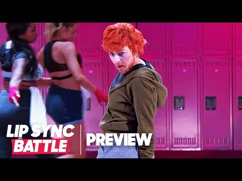 "Charli XCX Transforms Into Ed Sheeran for ""Shape of You"" 