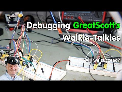 #279 How to debug Arduino Projects (GreatScott's Walkie-Talkie)