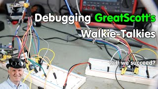 How to debug Arduino Projects (Example: GreatScott's Walkie-Talkie)
