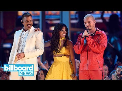 Camila Cabello Brings Out J Balvin, Ricky Martin for 2019 Grammys Performance | Billboard News
