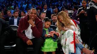 Beyoncé, Blue Ivy Star In Jay Z